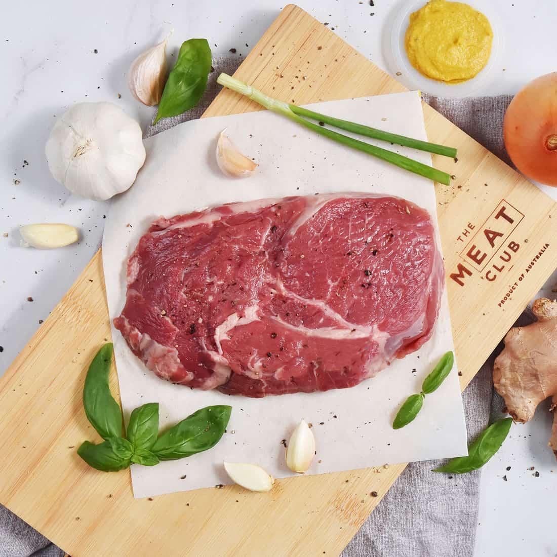 Grass fed ribeye steak The Meat Club