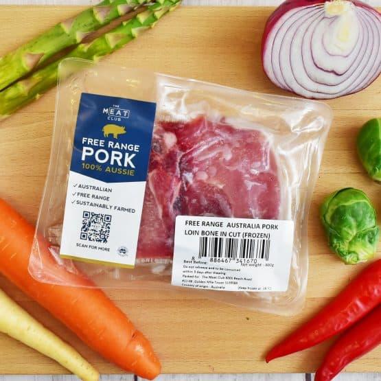 Free Range Pork Chop