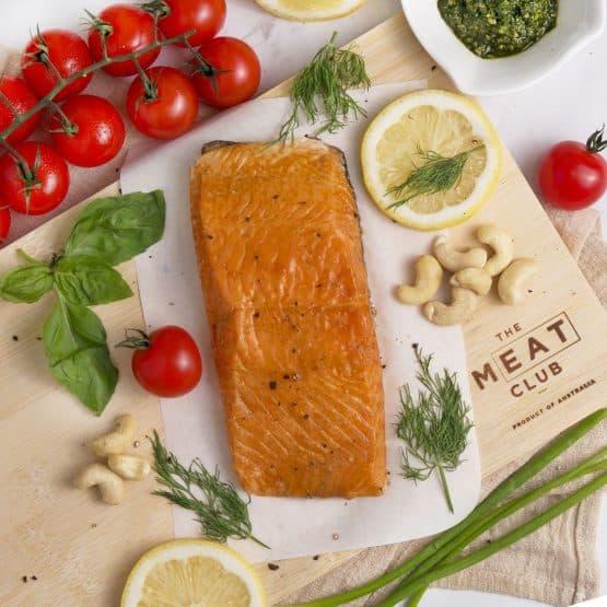Natural Hot Smoked Atlantic Salmon