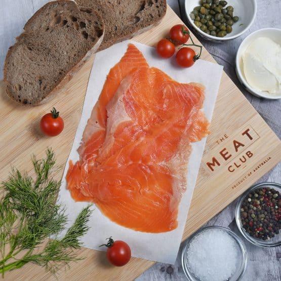 Cold Smoked Atlantic Salmon Thin Sliced