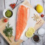 Raw Atlantic Salmon Whole Fillet