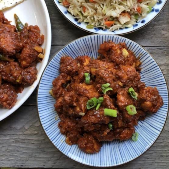 Kerala-style chilli chicken