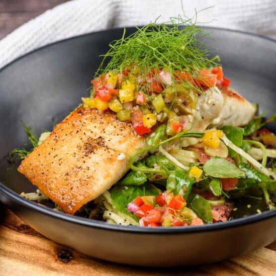Barramundi with Fennel Salad