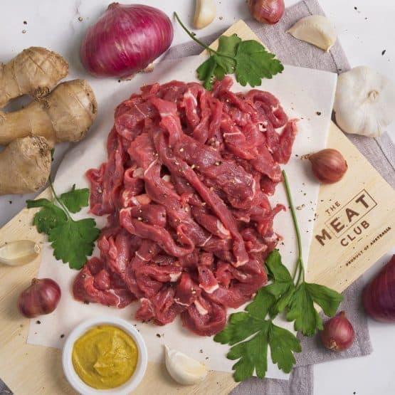 Grass Fed Beef Stir Fry Strips