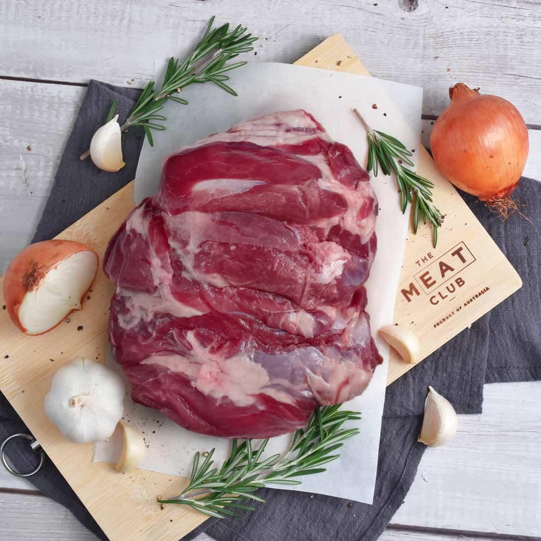 Lamb leg butterflied The Meat Club