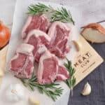 New Zealand Grass Fed Lamb Loin Chops