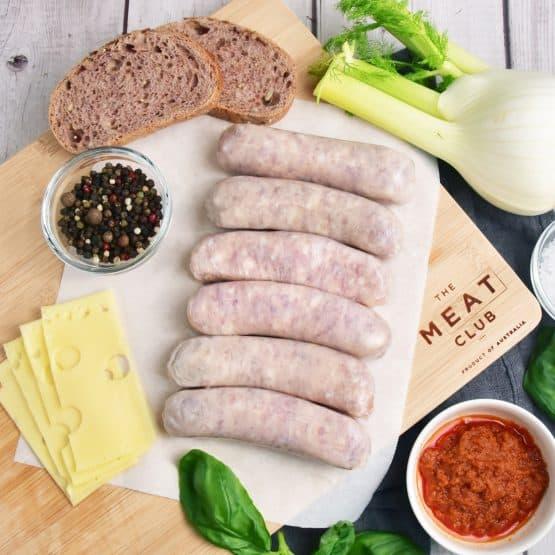 Free Range Pork Fennel Sausages