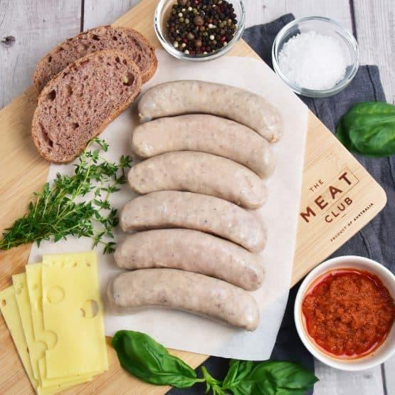 Free Range Pork Thyme Sausages