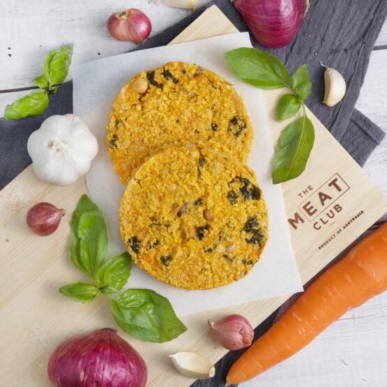 Vegetarian Carrot Burger Patty