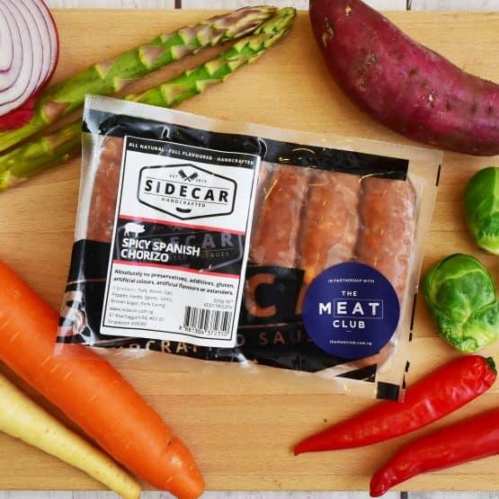 Free Range Spicy Spanish Chorizo Sausages