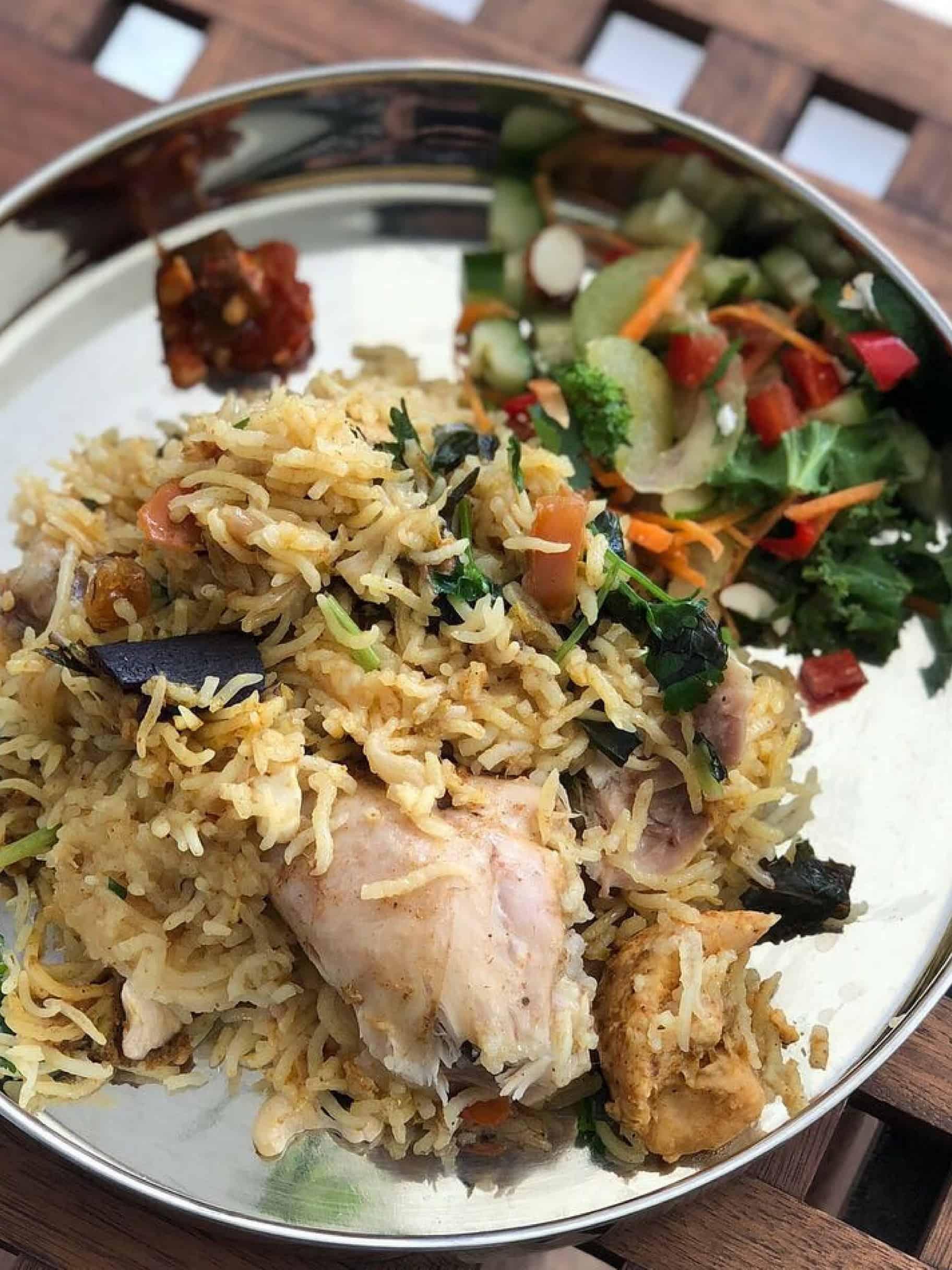 Quick Chicken Briyani