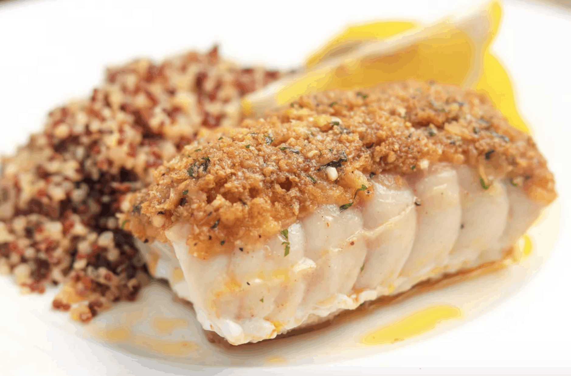 Baked Snapper With Garlic and Herbs