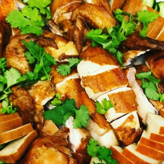 Soy-kissed chicken
