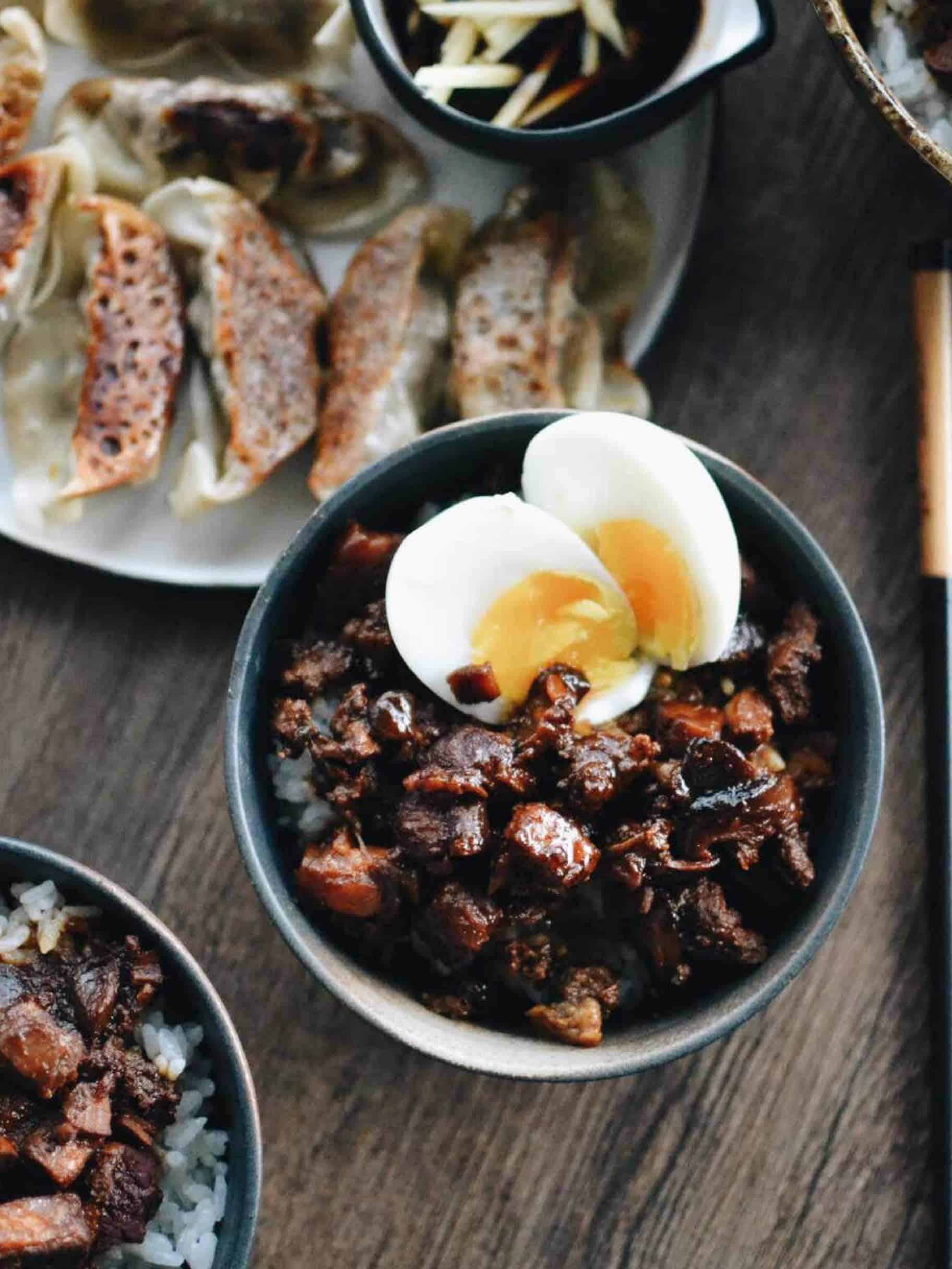 Braised Pork Belly Rice
